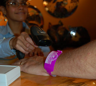 The First Smart Band® RFID Wristband