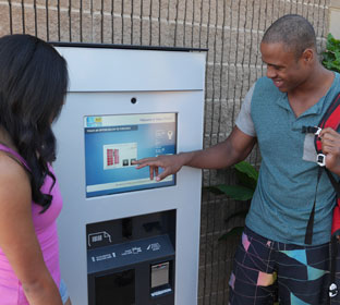 The First PDC Smart® RFID Kiosk System