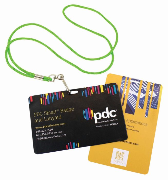 PDC Smart Badge & Lanyard Landscape