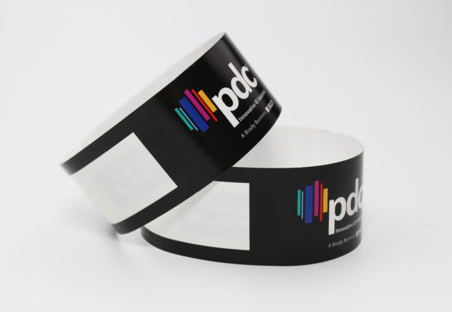 PDC Smart Full Color Thermal Wristband