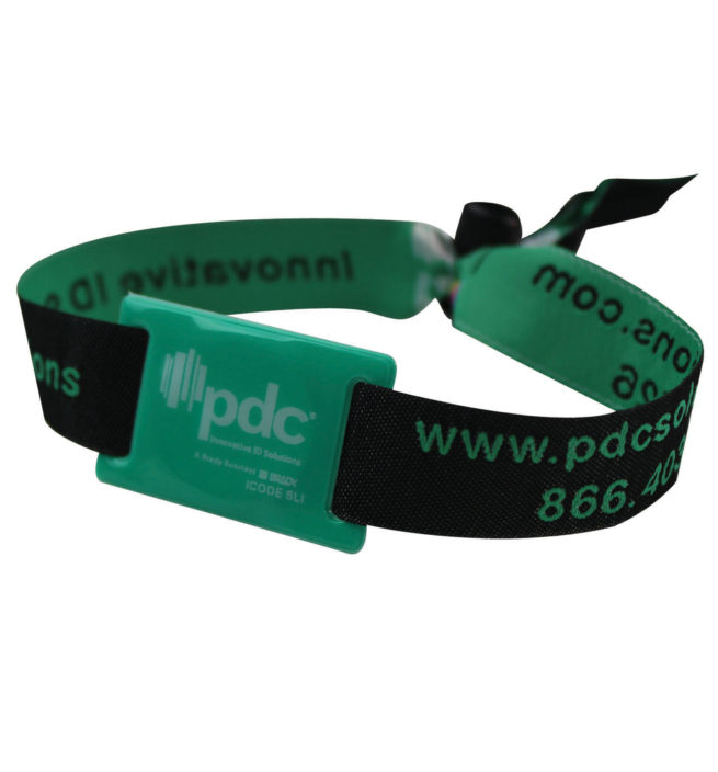 PDC Smart Woven Wristbands